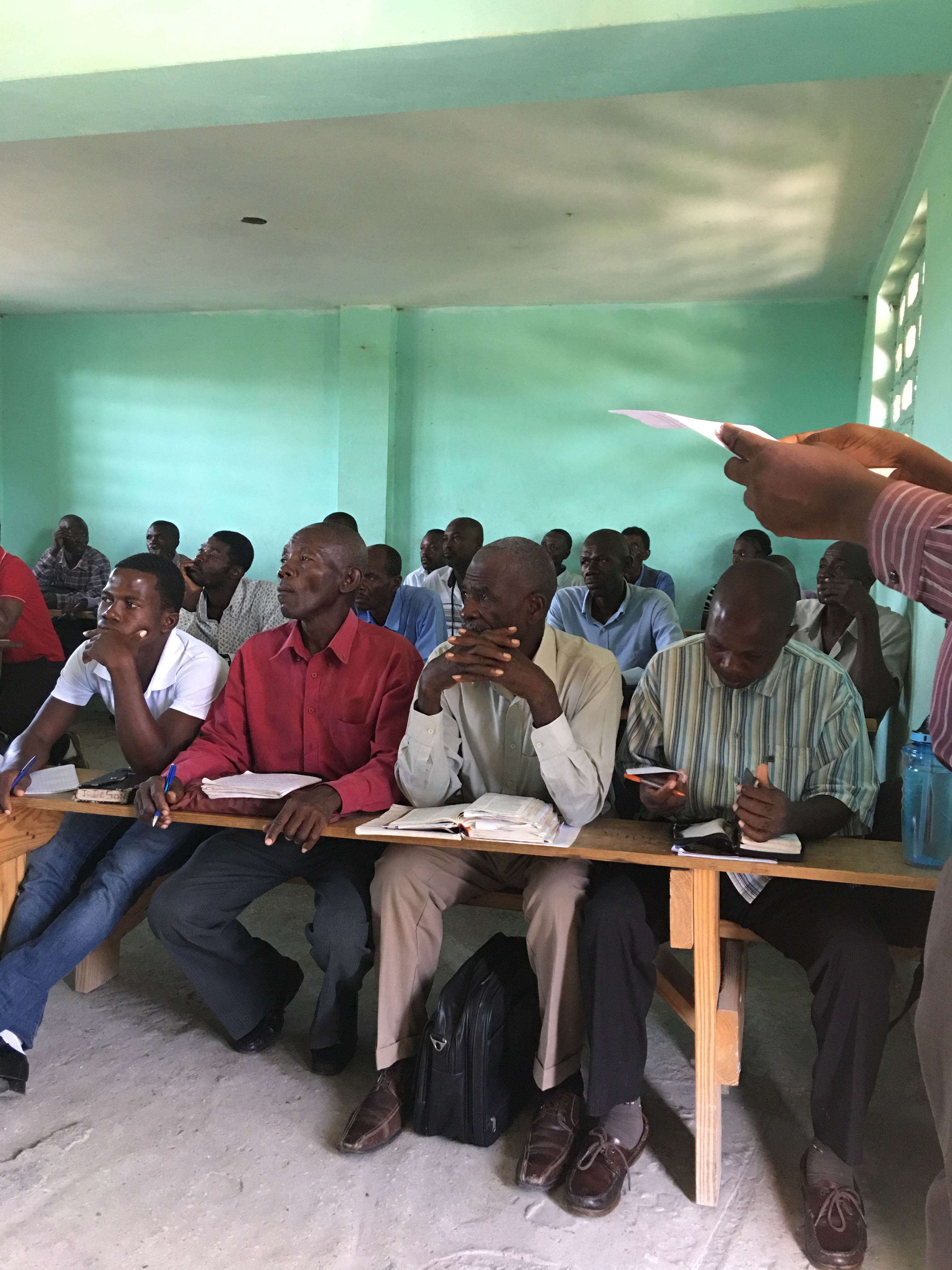 <b>Haiti Trip 2017</b><br> Chris Jackson, the Missions &amp; Outreach Pastor at Westside Church in Fort Pierce, Florida, and I conducted a three day Pastor's Conferences for about thirty pastors and church leaders on basic Bible doctrine at the LaCroix New Testament Mission.